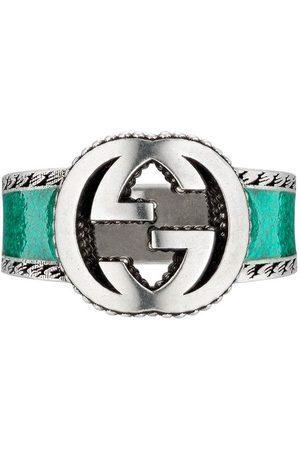 Gucci Homem Anéis - Interlocking G band ring