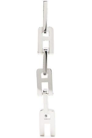 AMBUSH Senhora Colares - A-shaped chain-link pendant earrings