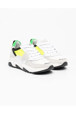 Philippe model Colour-block low-top trainers