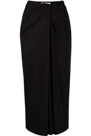 VALENTINO Twist-detail pencil skirt
