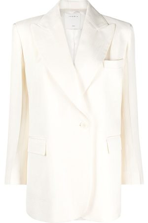 Sandro Double-breasted cotton blazer