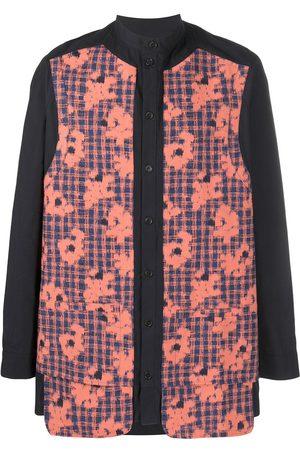 HENRIK VIBSKOV Floral-print button-up shirt