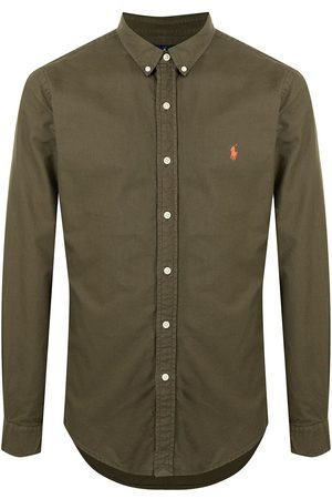 Polo Ralph Lauren Embroidered pony button-up shirt