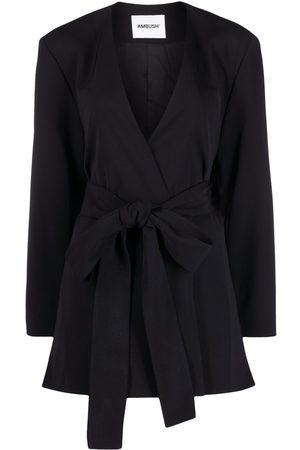 AMBUSH Senhora Blazers - Waist-tie blazer