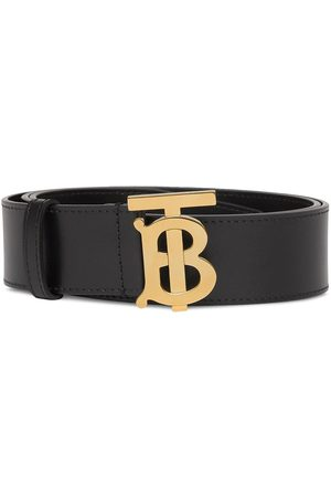 Burberry Monogram-buckle belt