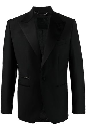 Philipp Plein Homem Blazers - Peak-lapels single-breasted jacket