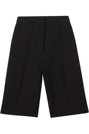 Burberry High-waisted tailored shorts