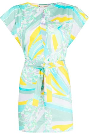 Emilio Pucci Patterned tunic style blouse