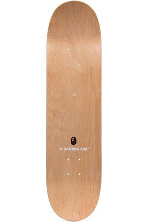 A Bathing Ape Leopard-print skateboard