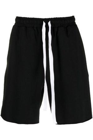 Alchemy Stretch-cotton drawstring shorts
