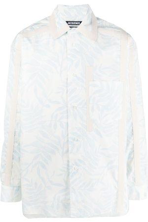 Jacquemus Homem Formal - Leaf-print shirt