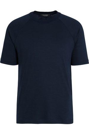Ermenegildo Zegna Short-sleeve wool T-shirt