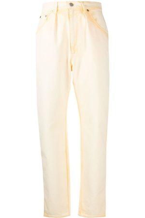Alberta Ferretti Tie-dye tapered-leg jeans