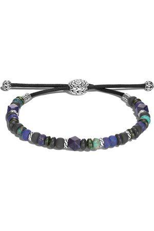 John Hardy Homem Pulseiras - Classic Chain silver beads pull through bracelet