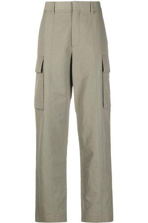Stella McCartney Senhora Calças Cargo - Straight-leg cargo trousers