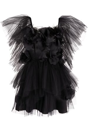 LOULOU Tulle mini dress