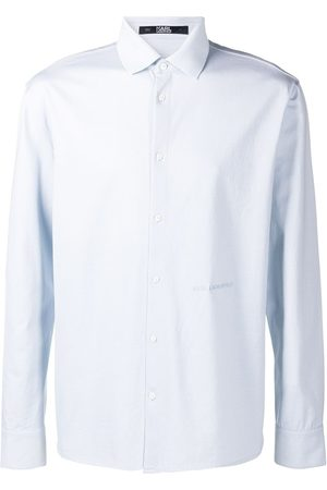 Karl Lagerfeld Embroidered logo shirt