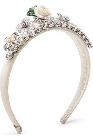 Dolce & Gabbana Menina Acessórios de Cabelo - Crystal-embellished headband