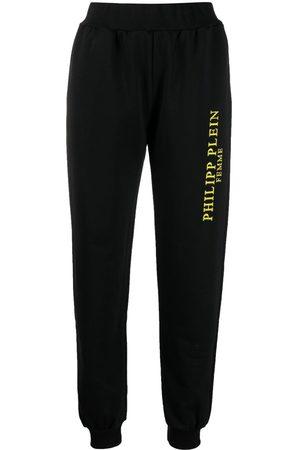 Philipp Plein Senhora Calças - Logo-print track pants