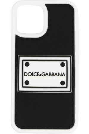 Dolce & Gabbana Homem Phones - Logo-patch iPhone 12 Pro case
