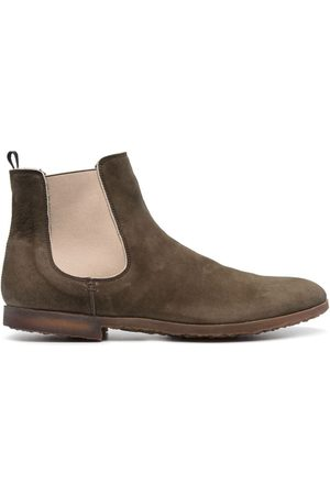 Premiata Panelled leather desert boots