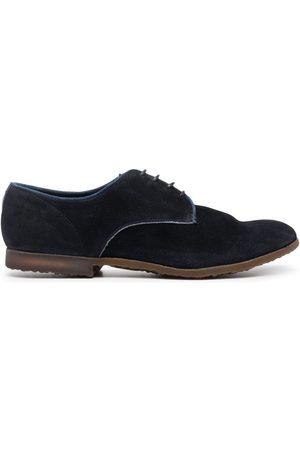 Premiata Homem Sapatos - Panelled suede derby shoes