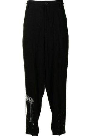 YOHJI YAMAMOTO High-rise drop-crotch trousers
