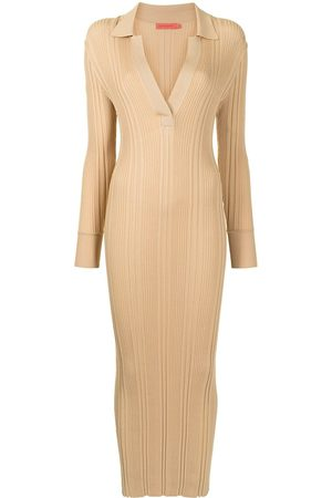 MANNING CARTELL Senhora Vestidos Casual - Fitted ribbed-knit dress