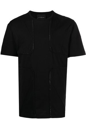 John Richmond Raised-seam panelled T-shirt