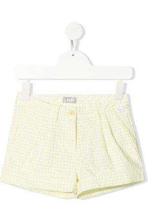 Il gufo Gingham check shorts