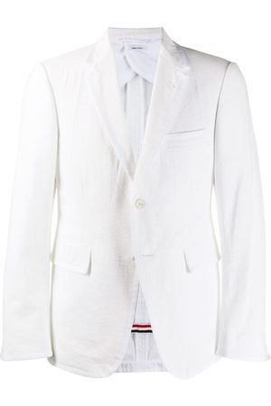 Thom Browne Homem Blazers - Single-breasted blazer