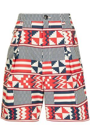 Ports V Bermudas - Geometric-print shorts