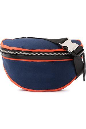 Ports V Contrast-trim belt bag