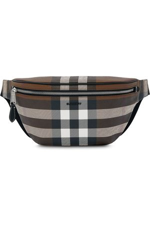 Burberry Check pattern belt bag