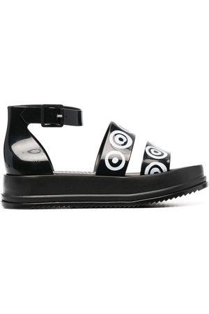 10 CORSO COMO Senhora Sandálias - Logo print chunky sandals