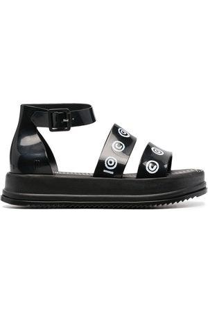 10 CORSO COMO Senhora Sandálias - Logo-print chunky sandals