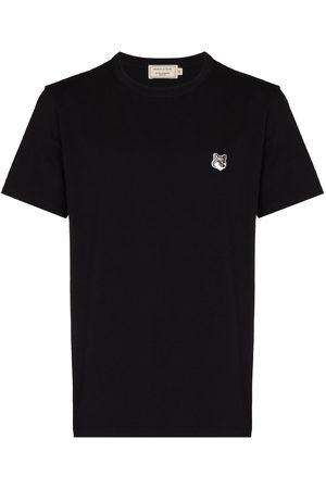 Maison Kitsuné Homem T-shirts & Manga Curta - Fox patch short-sleeve T-shirt