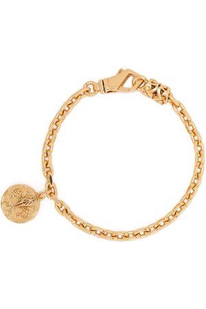 EMANUELE BICOCCHI Pulseiras - Coin-pendant chain-link bracelet