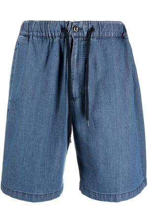 PT01 Drawstring-waist denim shorts
