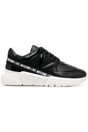 Love Moschino Logo-tape trainers