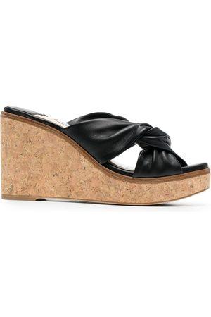 Jimmy Choo Narisa 90mm wedge sandals