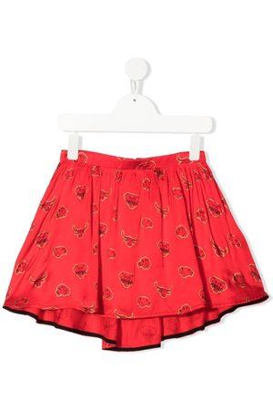 Kenzo Menina Saias - Chinese New Year skirt