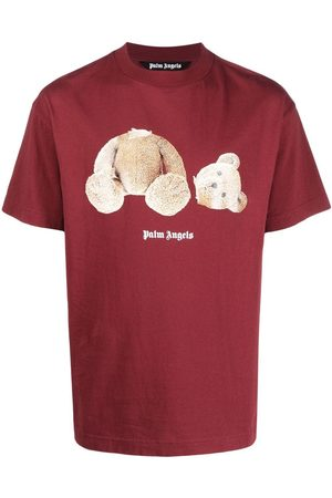 Palm Angels Teddy Bear logo T-shirt
