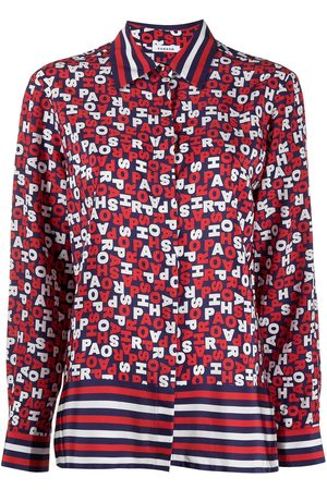 P.a.r.o.s.h. Logo-print long-sleeve shirt