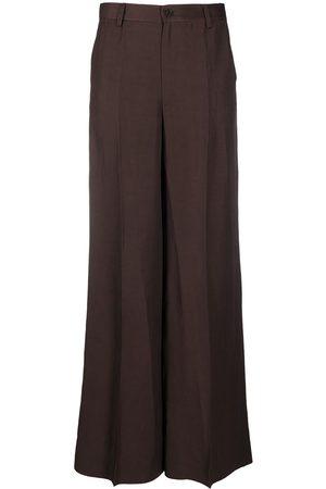 P.a.r.o.s.h. Senhora Calças Formal - Tailored wide-leg trousers