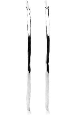 Ippolita Senhora Brincos - Sterling Classico medium hoop earrings