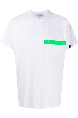 MACKINTOSH Stripe detail T-shirt
