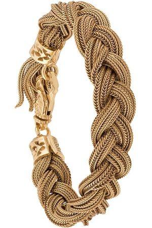 EMANUELE BICOCCHI Homem Pulseiras - Woven strap bracelet