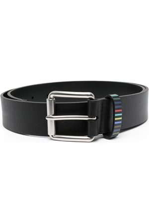 Paul Smith Homem Cintos - Stripe trim belt