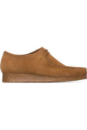 Clarks Cola Wallabee shoes